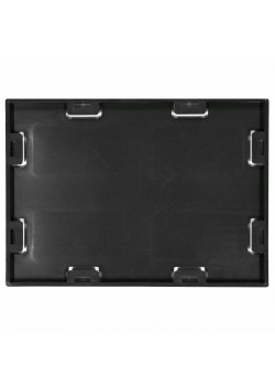 Screwable Faceplate 5'' x 7'' (Black)