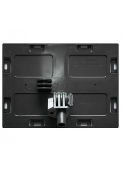 Faceplate with pivot 5'' x 7'' (Black)