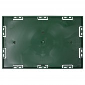 Screwable Faceplate 7'' x 11'' (Green)