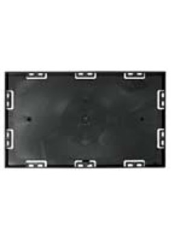 Screwable Faceplate 7'' x 11'' (Black)