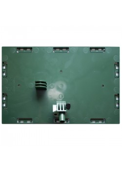 Faceplate with pivot 7'' x 11'' (Green)