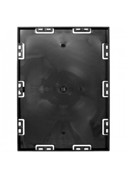 Screwable Faceplate 8,5'' x 11'' (Black)