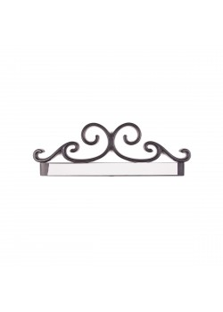 Sign holder Embellishement 7'' (Black)