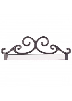 Sign holder Embellishement 11'' (Black)