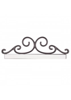 Sign holder Embellishement 8 1/2'' (Black)
